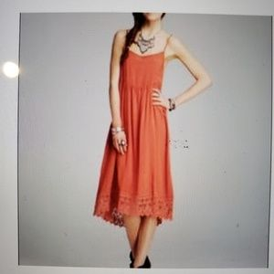 Intimately Free People Coral Maxi Dress Size S/P